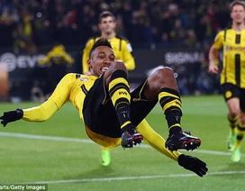 Aubameyang lập công, Dortmund áp sát top 2 Bundesliga