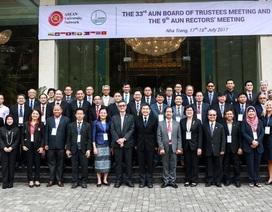 Hội nghị Giám đốc các đại học AUN: Tăng cường kết nối, nâng cao chất lượng giáo dục