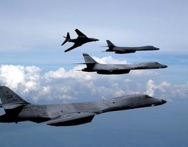 Máy bay ném bom B-1 của Mỹ quần thảo bán đảo Triều Tiên
