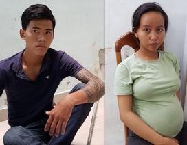 Thanh niên chở vợ mang bầu đi cướp giật