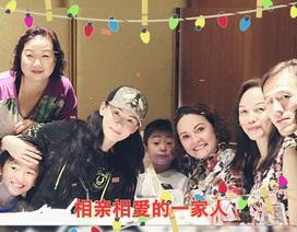Trương Bá Chi hạnh phúc bên gia đình trong ngày sinh nhật