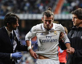 Real Madrid mất Gareth Bale ở bán kết Champions League