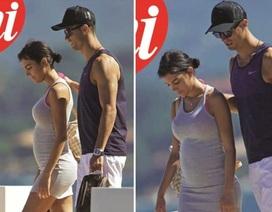 C.Ronaldo xác nhận người yêu mang thai