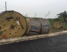Táo tợn băng nhóm trói bảo vệ, cướp 5 cuộn cáp điện trị giá 2,5 tỷ đồng
