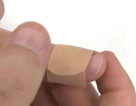Mẹo sử dụng miếng dán vết thương đúng cách
