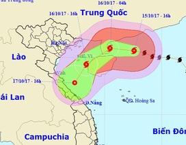 Bão số 11 suy yếu thành áp thấp nhiệt đới trước khi vào đất liền