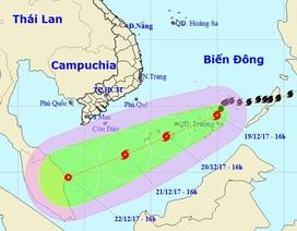 Bão số 15 có ảnh hưởng  trực tiếp đến đất liền Việt Nam?