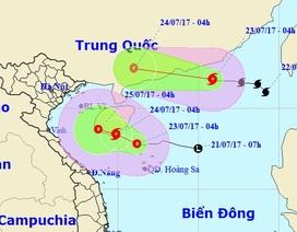 Bão số 3 hướng vào Trung Quốc, áp thấp nhiệt đới khả năng mạnh lên thành bão