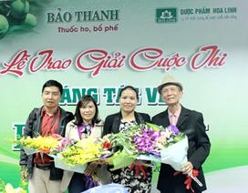 Tổng kết và trao giải cuộc thi sáng tác về Bảo Thanh