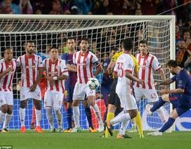 Barcelona giành vé đi tiếp ở Champions League tại Georgios Karaiskakis?