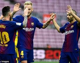 Barcelona đại thắng trong ngày sân Nou Camp không có khán giả