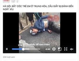 Thực hư vụ vây đánh nam thanh niên nghi bắt cóc trẻ em ở Hà Nội