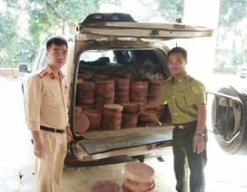 Hà Nội: Thu giữ hơn 500 chiếc thớt gỗ nghiến lậu