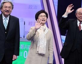 Hong Kong bầu trưởng đặc khu mới