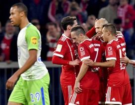 Dẫn trước 2 bàn, Bayern Munich vẫn rơi điểm ngay trên sân nhà