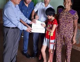 Hơn 68 triệu đồng đến với gia đình bé Thủy Uyên