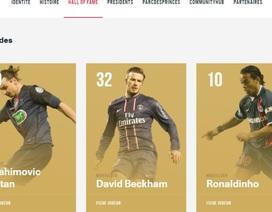 Chỉ đá 14 trận, Beckham được vinh danh là huyền thoại PSG