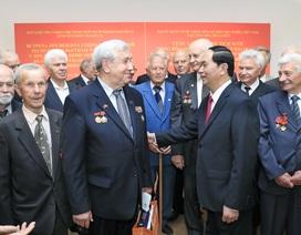 Chủ tịch nước tiếp các cựu chiến binh Belarus từng chiến đấu tại Việt Nam