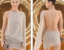 Bella Hadid diện lại váy siêu hot từng mặc trình diễn