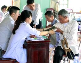 500 người dân khó khăn được khám chữa bệnh, cấp thuốc miễn phí