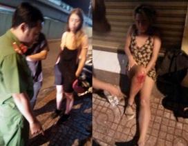2 cô gái nước ngoài bị trộm mất xe máy sau tai nạn giao thông