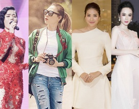 Mỹ Tâm, Angela Phương Trinh mặc đẹp nhất tuần; Lệ Quyên, Mai Ngô lọt top sao mặc xấu