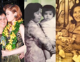 Ngày của Mẹ, sao Việt tung ảnh thời thơ ấu bên đấng sinh thành
