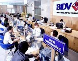6 tháng đầu năm, mức lãi thuần của BIDV tăng đột biến