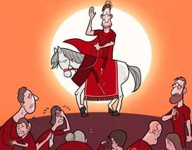 """Góc biếm họa: Chào tạm biệt """"Hoàng tử"""" Totti"""
