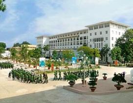 Học viện Biên phòng tuyển bổ sung thêm ngành Luật hệ Quân sự