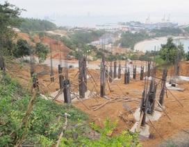 40 móng biệt thự không phép ở bán đảo Sơn Trà: Phải dừng tức thì