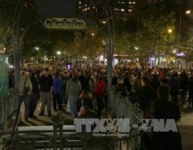 Biểu tình phản đối cải cách lao động biến thành bạo lực tại Paris