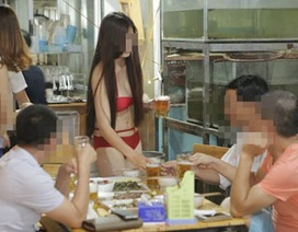 Mặc bikini tiếp thị bị phạt nặng, còn cởi trần bán hàng thì sao?