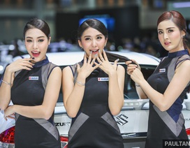 Những cô gái xinh đẹp của Triển lãm ô tô Bangkok 2017