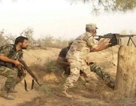 Quân đội Syria tấn công dồn dập các phòng tuyến của IS ở  Deir Ezzor