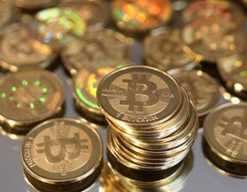 Một đồng tiền ảo bitcoin trị giá hơn 1.800 USD