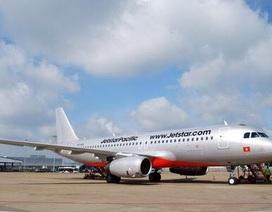 Máy bay Jetstar Pacific phải quay đầu vì báo lỗi cảm biến càng