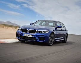 M5 2018 sẽ là xe đắt nhất và nhanh nhất của BMW tại Mỹ