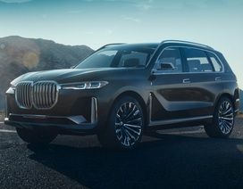 """BMW X7 iPerformance chuẩn bị """"chạm ngõ"""" phân khúc crossover"""