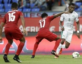 Bờ Biển Ngà gây thất vọng ở ngày ra quân CAN 2017
