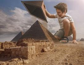 """Những khoảnh khắc đời thường bỗng hóa """"siêu phẩm"""" của cậu bé có bố là chuyên gia Photoshop"""