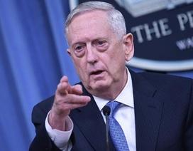 """Bộ trưởng Mỹ cảnh báo chiến tranh """"thảm khốc"""" với Triều Tiên"""