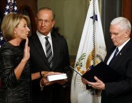 Thượng viện Mỹ phê chuẩn Bộ trưởng Giáo dục sau phiếu bầu của Phó Tổng thống