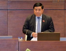 """Bộ trưởng lúng túng, Chủ tịch Quốc hội """"giải cứu"""" trả lời thay"""