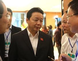 """Bộ trưởng Trần Hồng Hà """"đảm bảo hoàn toàn"""" môi trường biển vụ Formosa"""