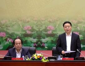 """Bộ trưởng Tài nguyên và Môi trường """"thúc"""" kỷ luật cán bộ vụ Formosa"""