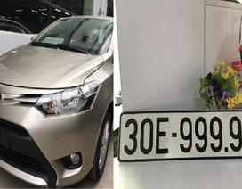"""Bốc được biển """"ngũ quý"""", Toyota Vios bán gấp 3 lần giá mua"""