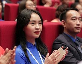 Những bóng hồng xinh đẹp tại Đại hội Đoàn toàn quốc lần thứ XI