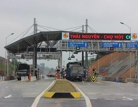 Bộ Giao thông đồng ý cho thu phí dự án BOT Thái Nguyên - Chợ Mới