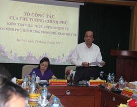 Bộ trưởng Mai Tiến Dũng đề nghị Bộ Y tế bỏkiểm nghiệm trên giấy tờ